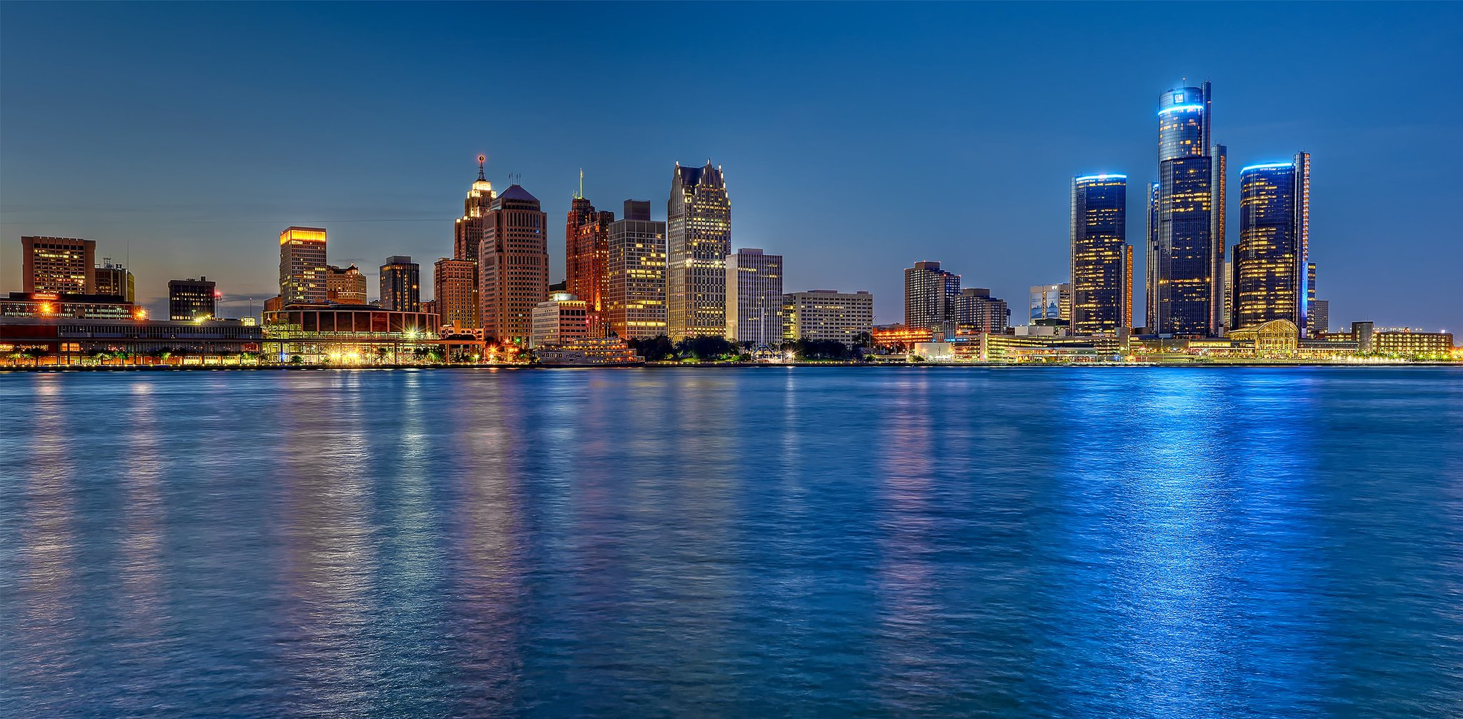 Sports News Articles Scores, Pictures, Videos - ABC Pictures of detroit skyline at night
