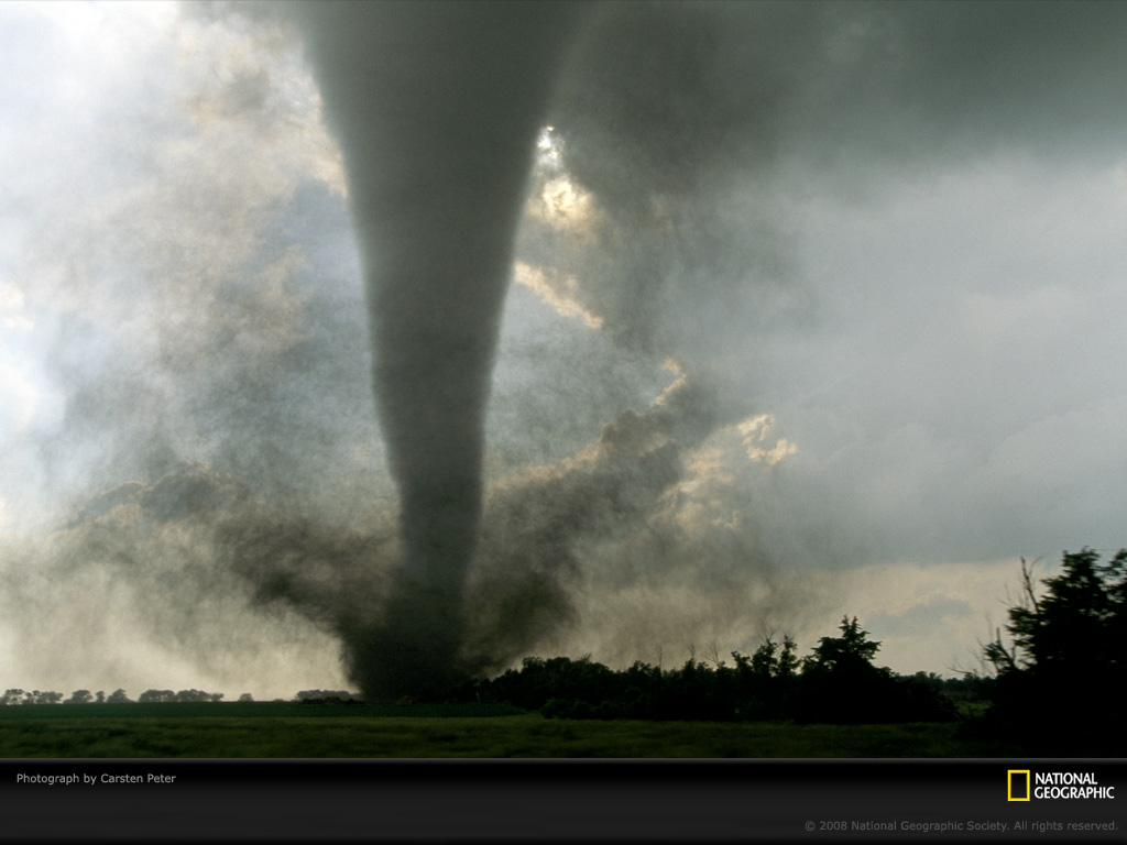 Tornado Touchdown Photo of the Day Picture Photography Wallpapers 1024x768