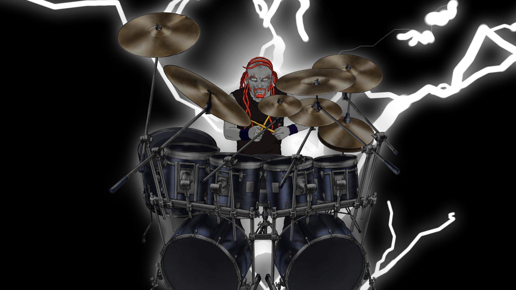 groups metalocalypse drums wallpaper 2000x1125 73972 WallpaperUP 2000x1125