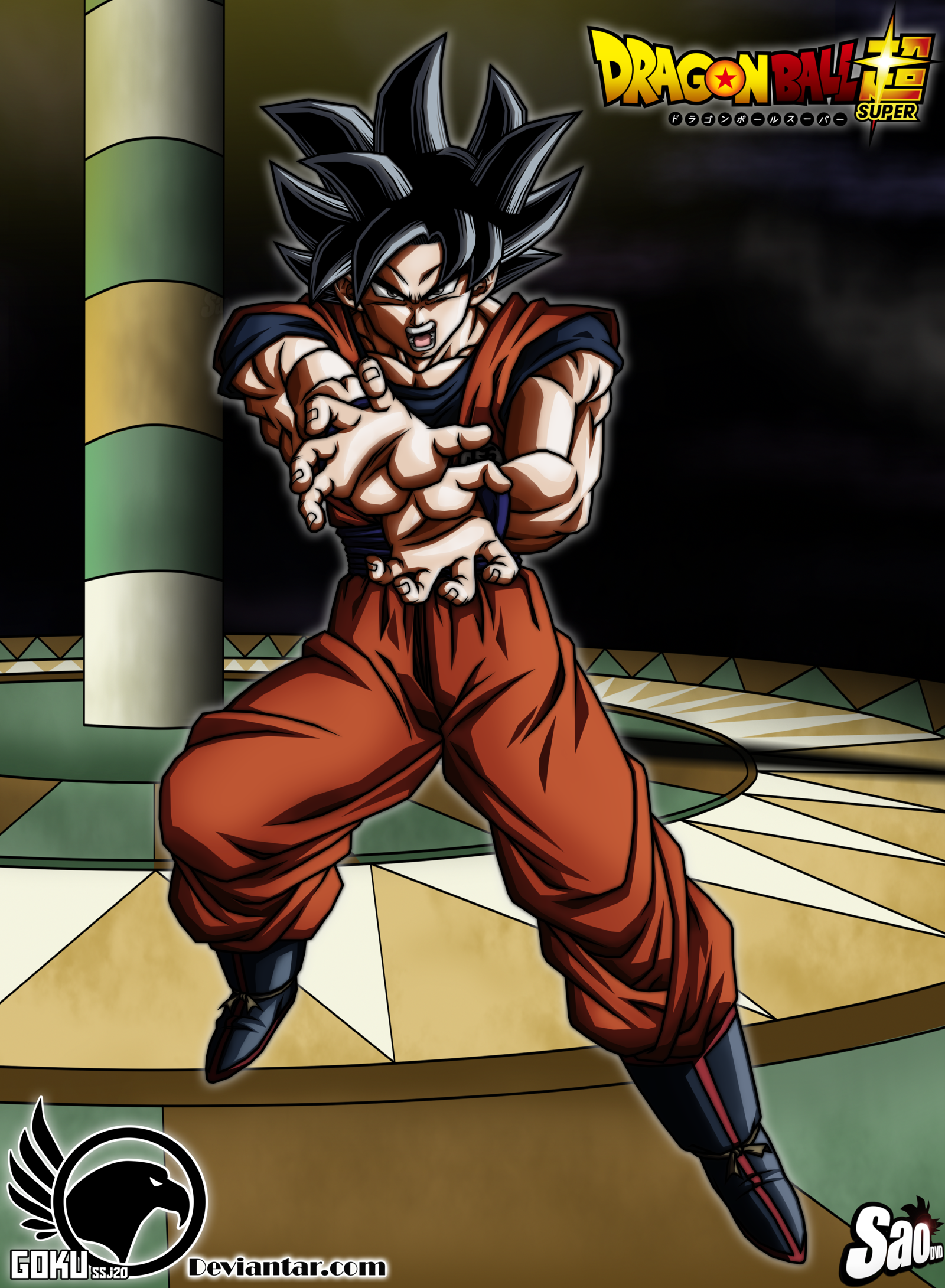 Dbs Ultra Instinct Goku Wallpaper   WallsKid 1600x2181