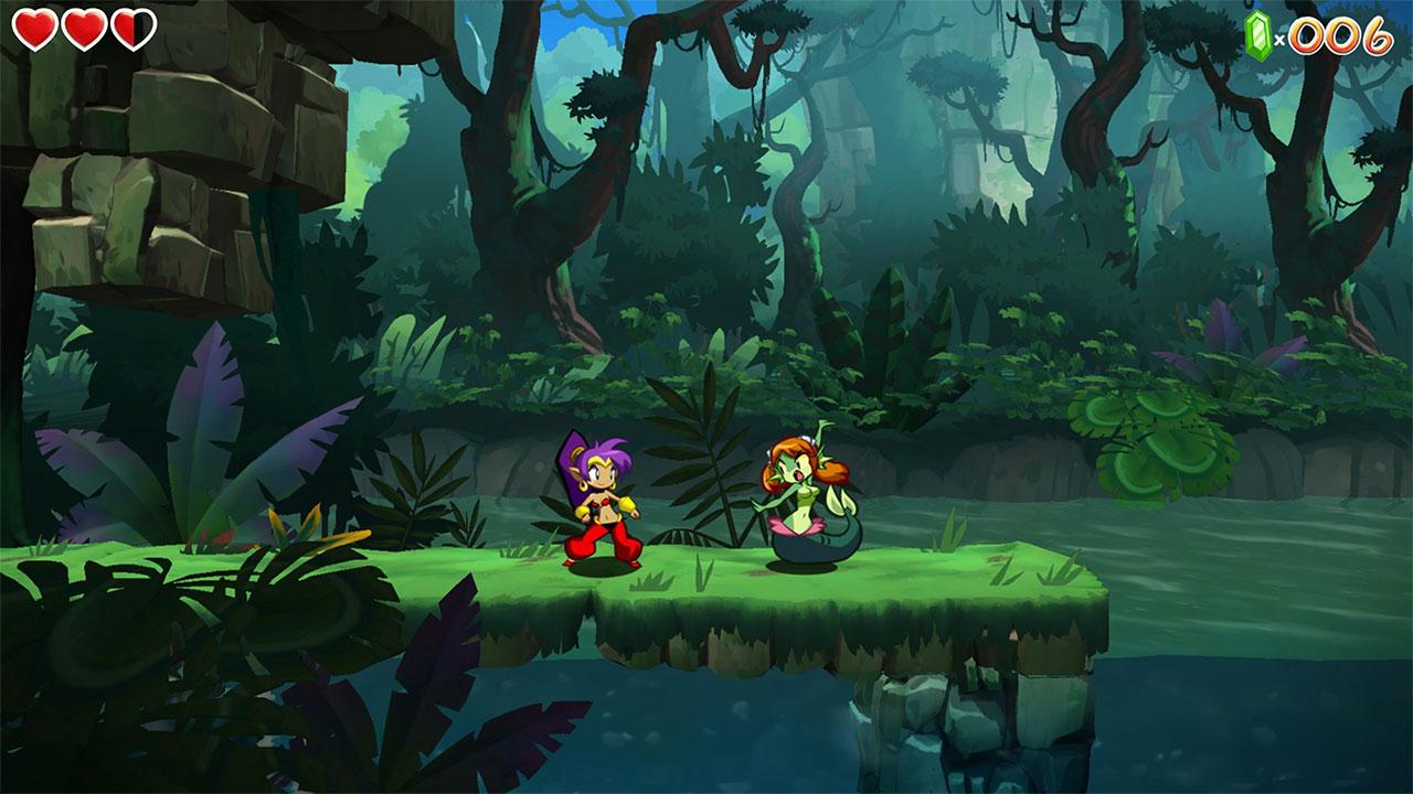 Genie Hero 4K Wallpaper Shantae Half Genie Hero 1080p Wallpaper 1280x720