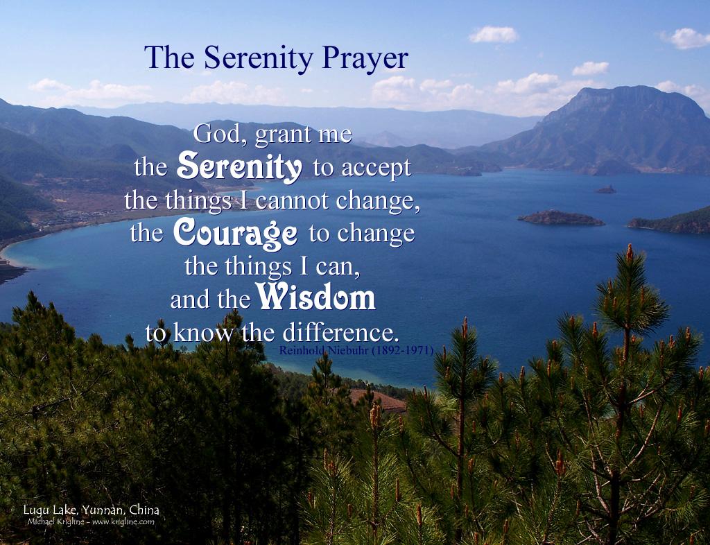 48 Serenity Prayer Wallpaper Screensaver On Wallpapersafari