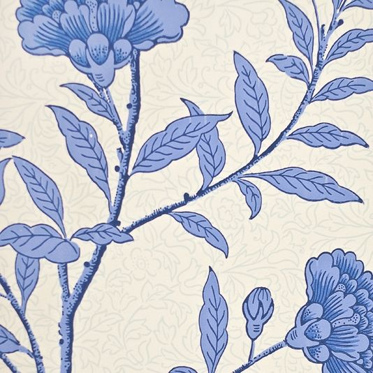 Peony Floral Wallpaper White mottled Wallpaper with large bold floral 534x534