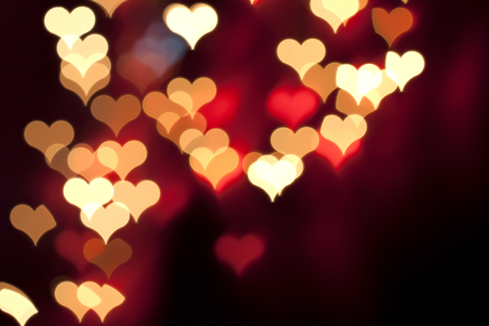 Free Download Images Of Love Illuminated Hearts 4235104 1000x667