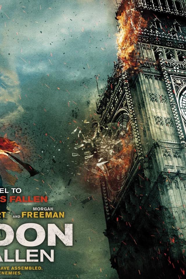 London Has Fallen 2015 Movie HD Wallpaper 4926 640x960
