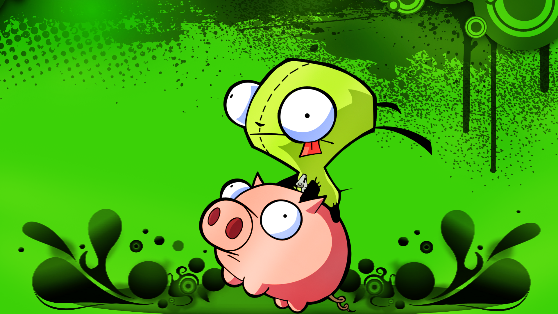 invader zim wallpaper 1024x768 - photo #22