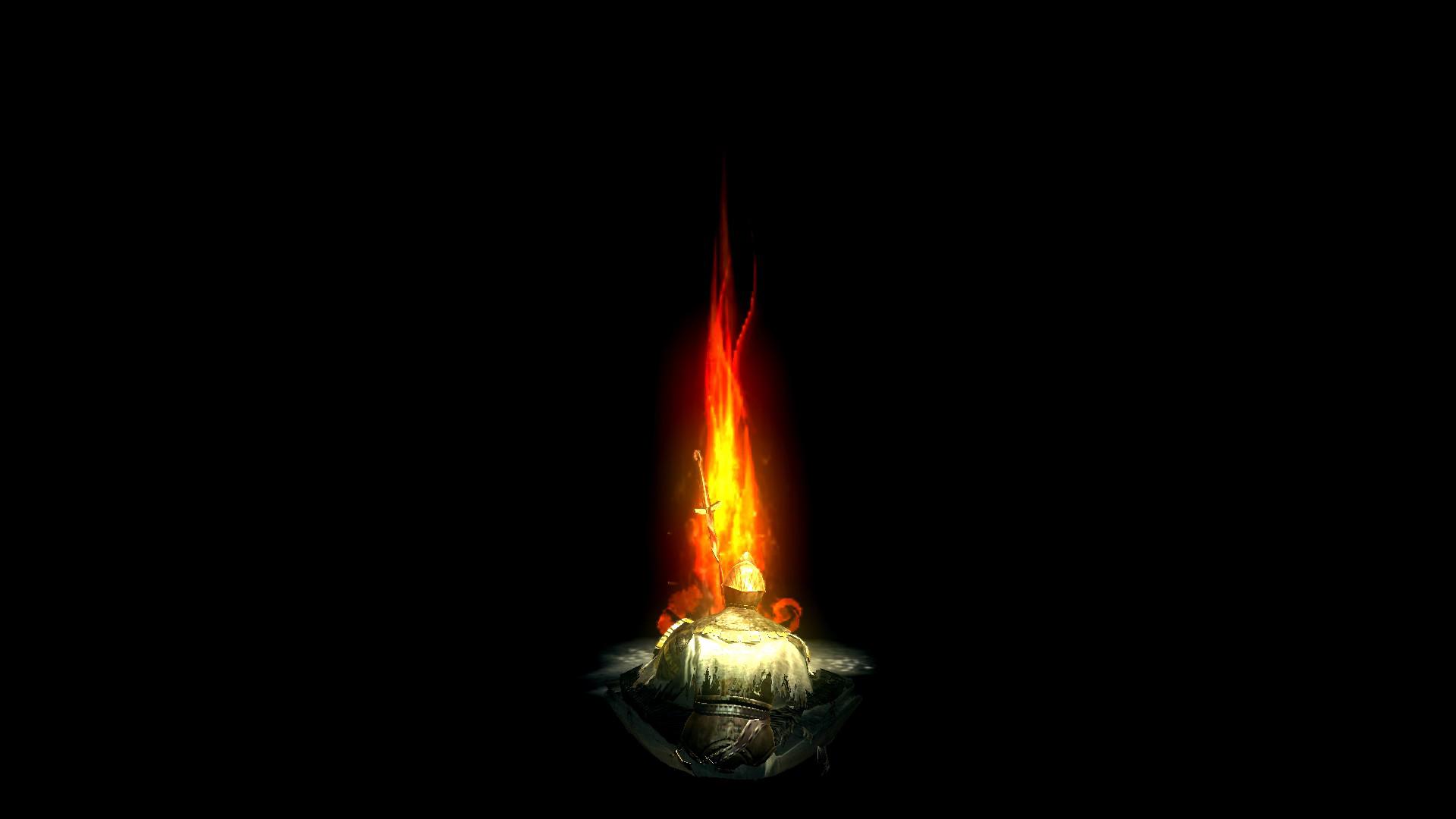 Dark Souls Background 1920x1080: Dark Souls Bonfire Wallpaper