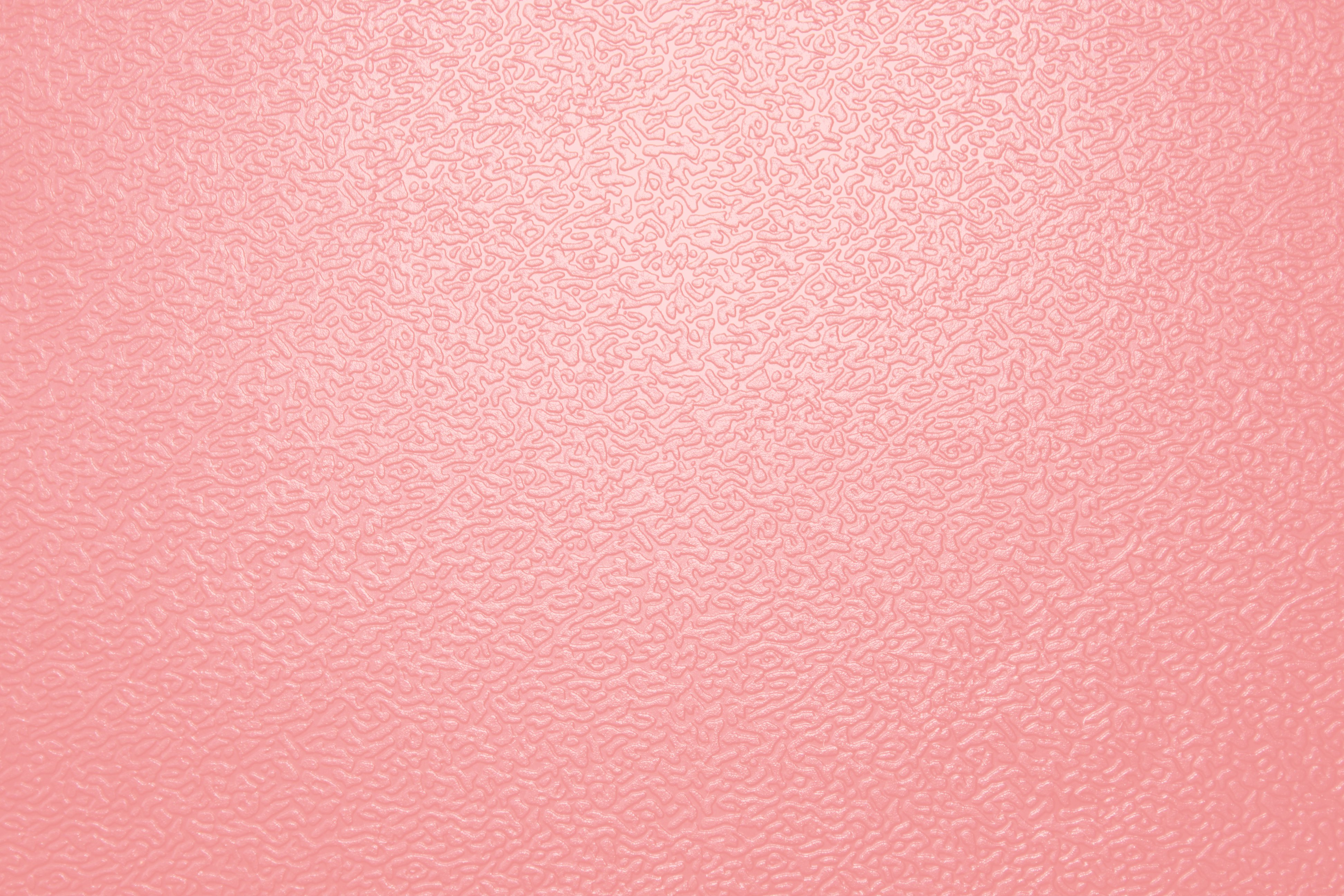 Textured Salmon Pink Colored Plastic Close Up   High Resolution 3888x2592