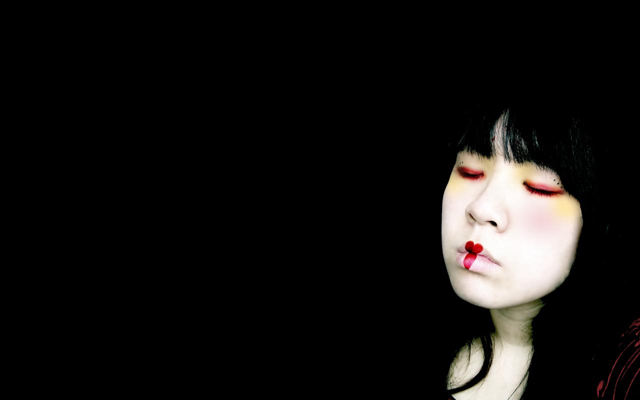 Geisha resting Wallpaper Wide Wallpaper Collections 1280x800