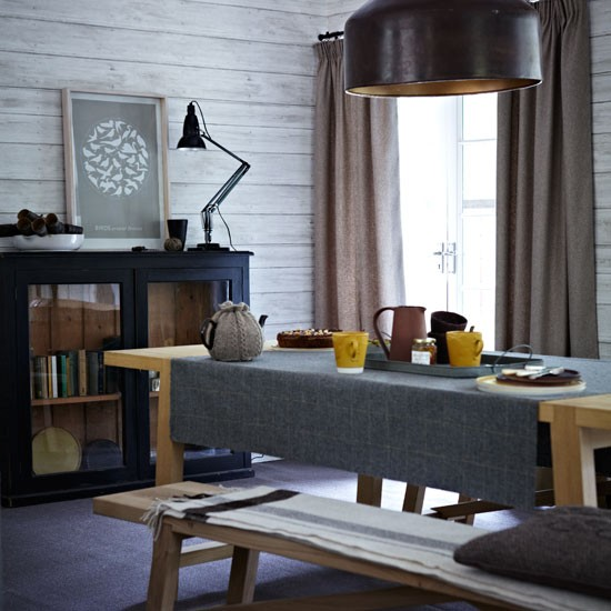 Free Download Country Dining Room With Wood Effect Wallpaper Design Ideas 550x550 For Your Desktop Mobile Tablet Explore 46 Country Dining Room Wallpaper Country Kitchen Wallpaper French Country Wallpaper