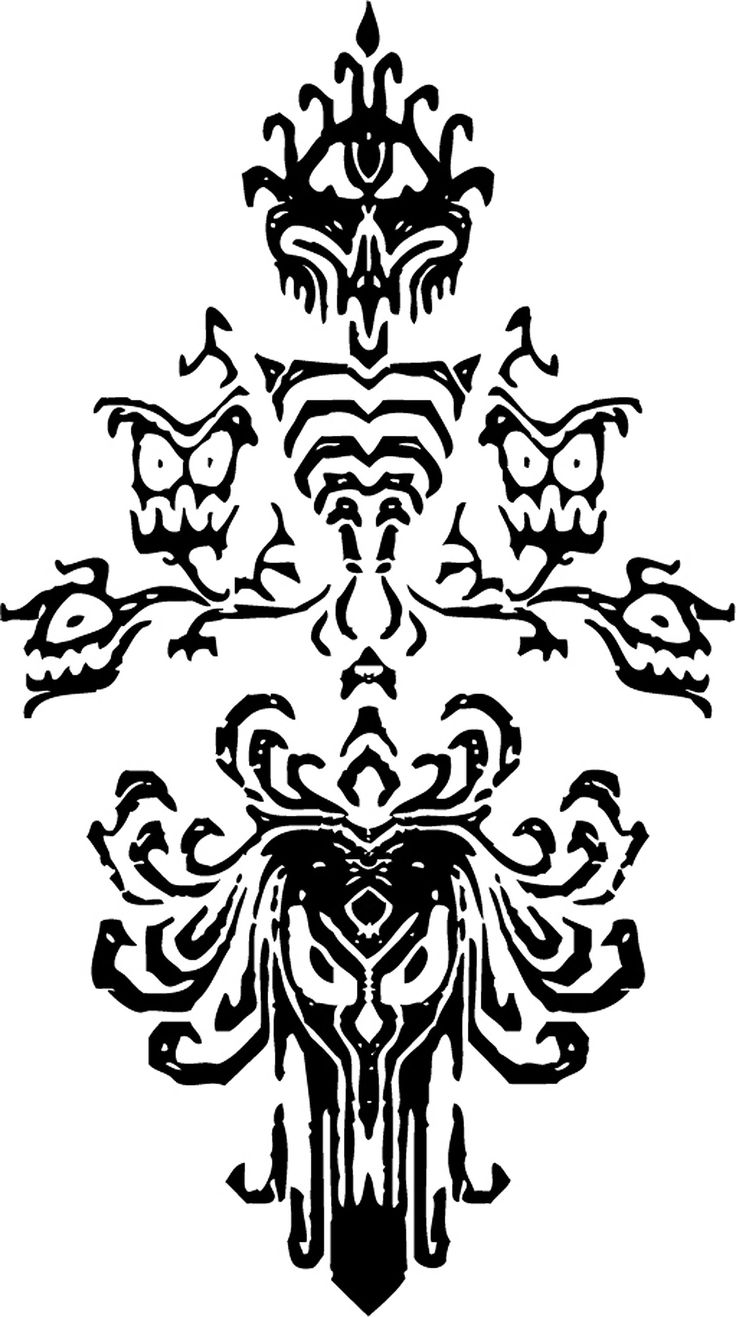 Line Art Printing And Design : Haunted mansion wallpaper stencil wallpapersafari