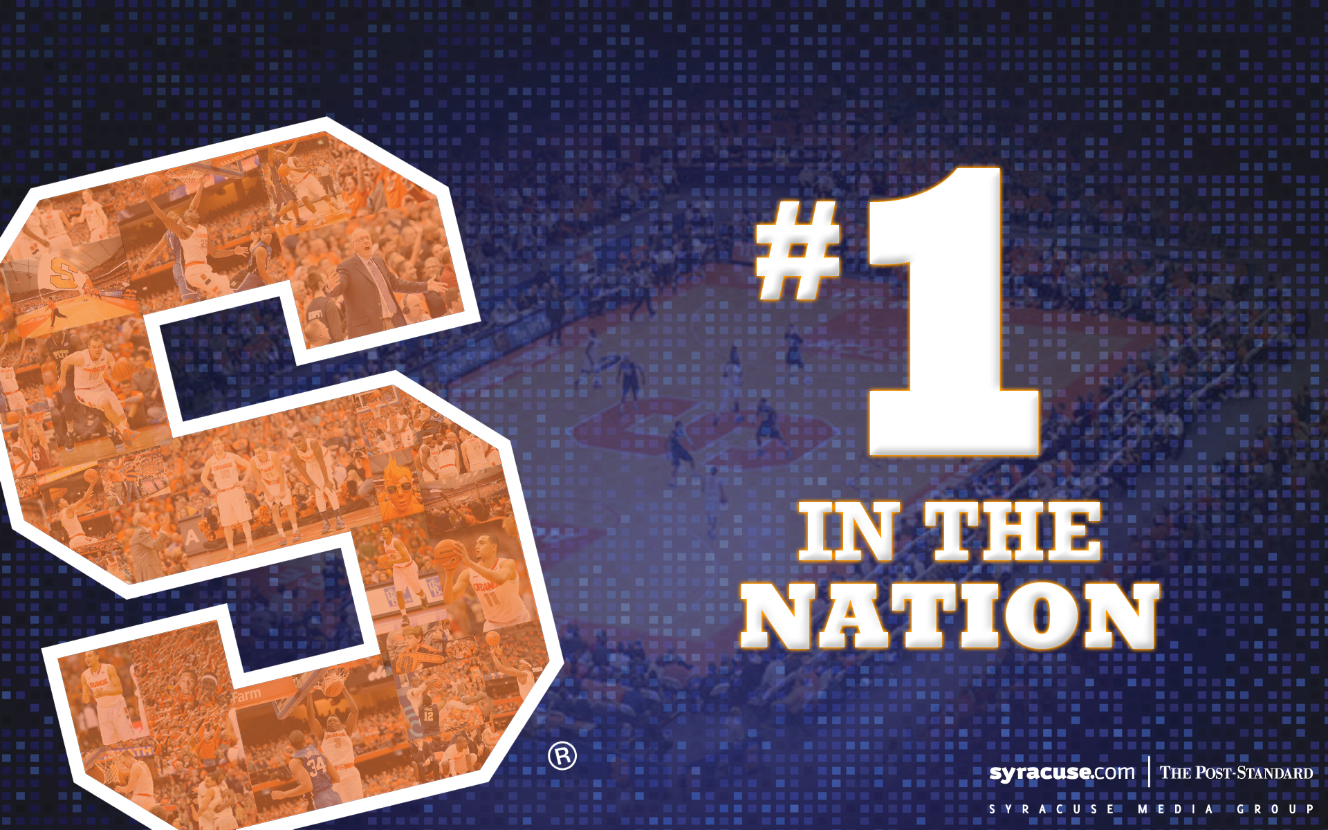 Syracuse basketball wallpapers Celebrate SUs No 1 ranking on your 1920x1200