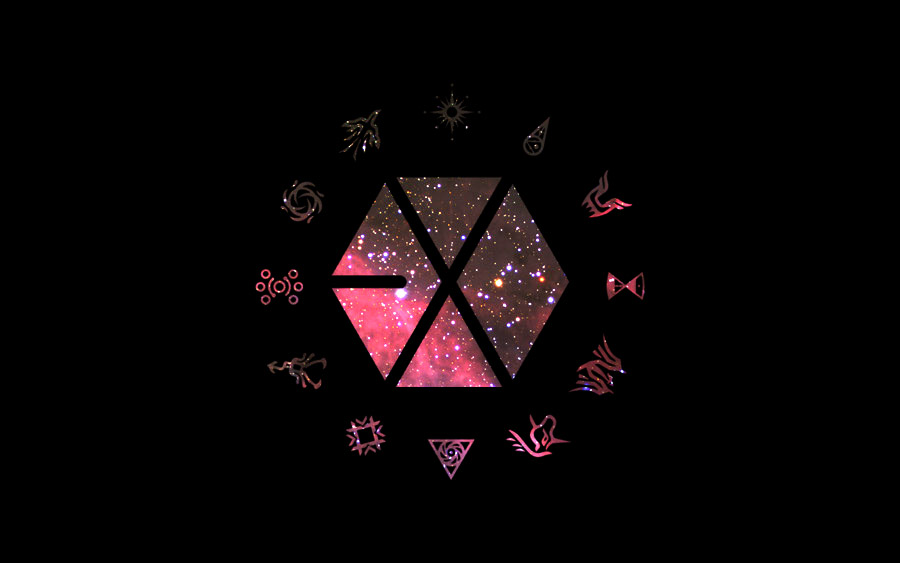 Exo Symbol Wallpaper Desktop Wallpaper Exo Symbols 900x563