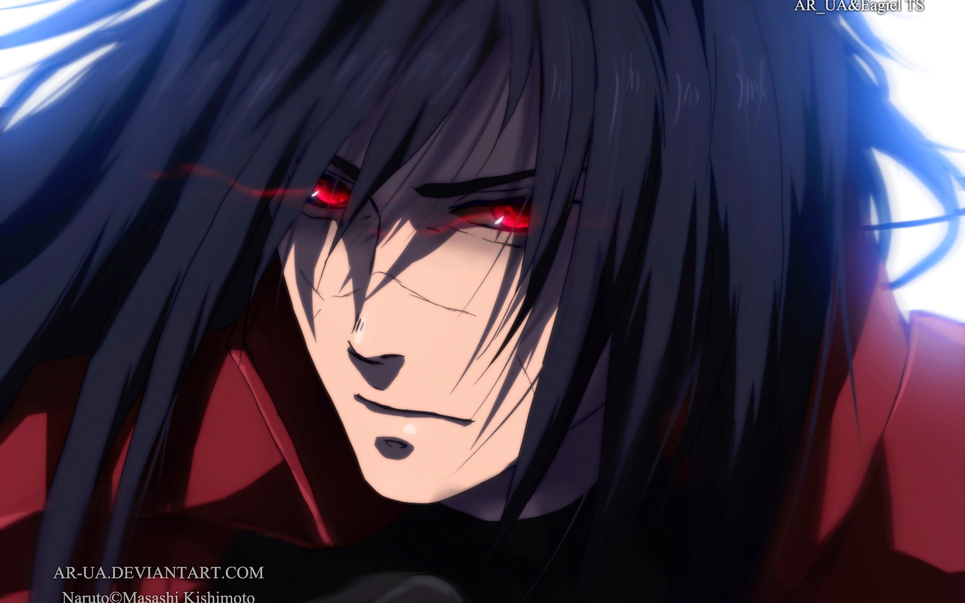 Sharingan Eyes Uchiha Madara 72 Wallpaper HD 1920x1200