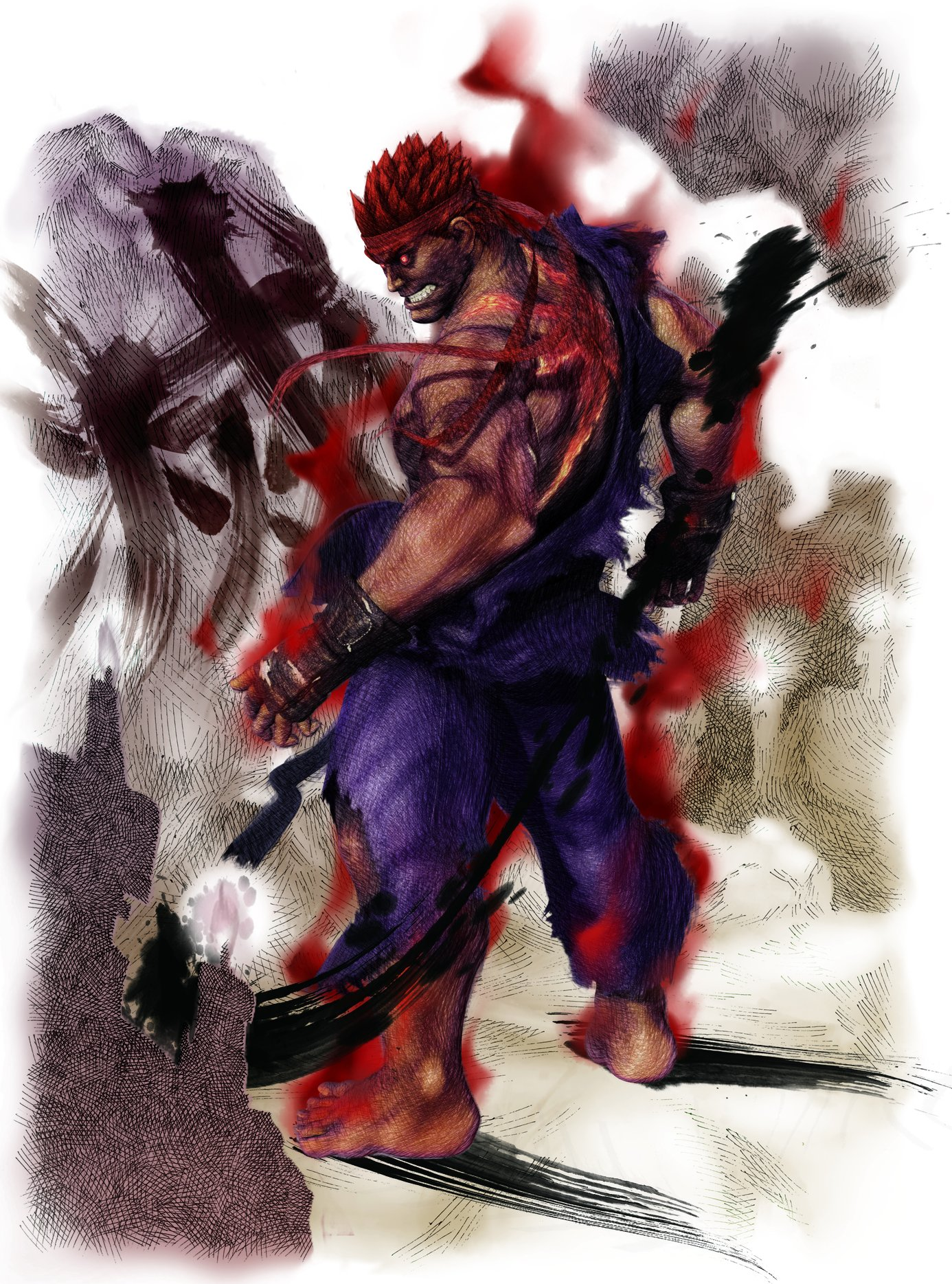 Free Download Street Fighter Evil Ryu Wallpapers55com Best