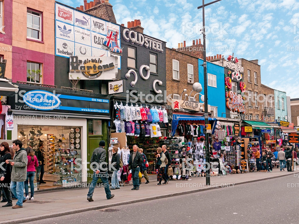 Camden Market London Stock Photo   Download Image Now   iStock 1024x768