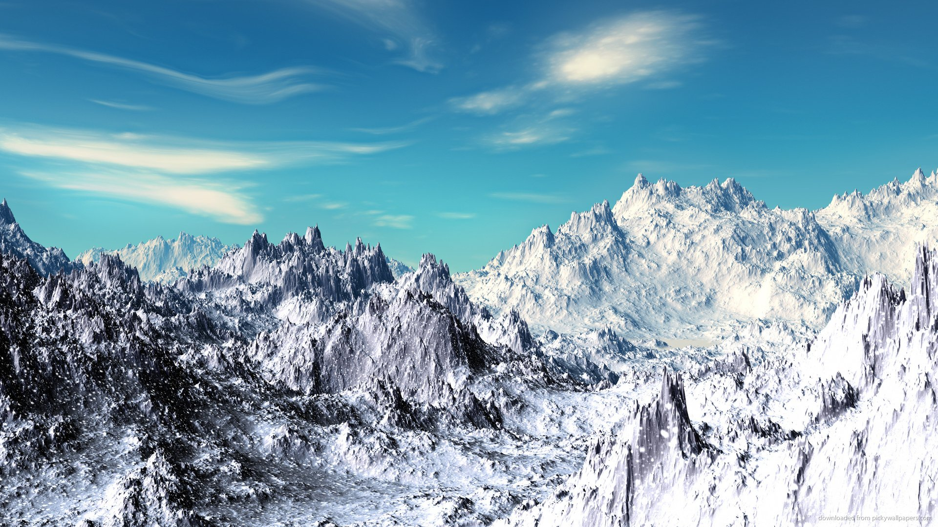 Snow hd wallpaper wallpapersafari - Hd snow mountain wallpaper ...