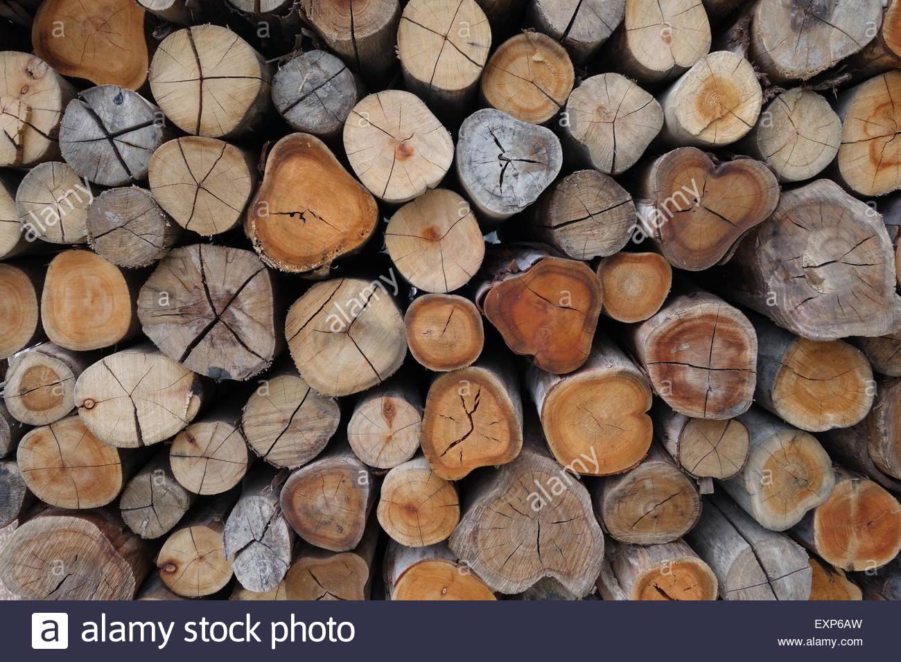 Firewood background Stock Photo 85310481   Alamy 1300x956
