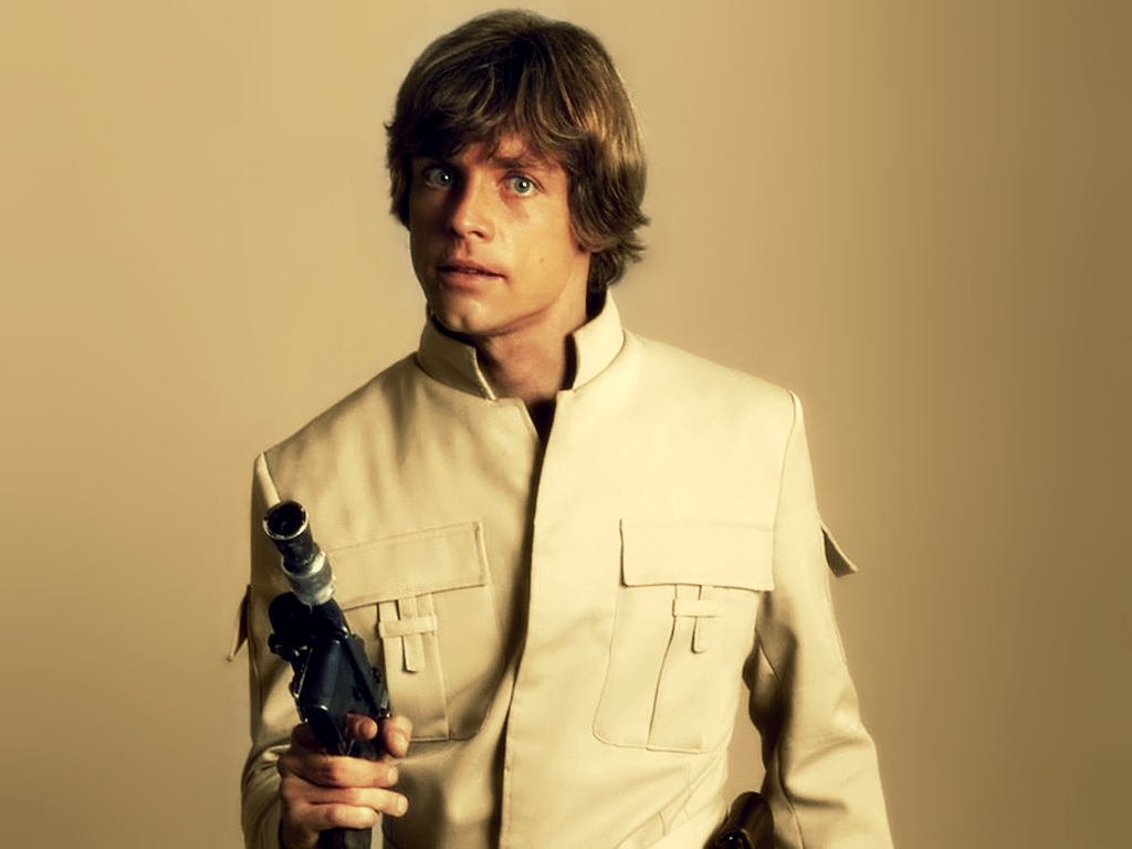 1024x768 Luke Skywalker desktop PC and Mac wallpaper 1024x768