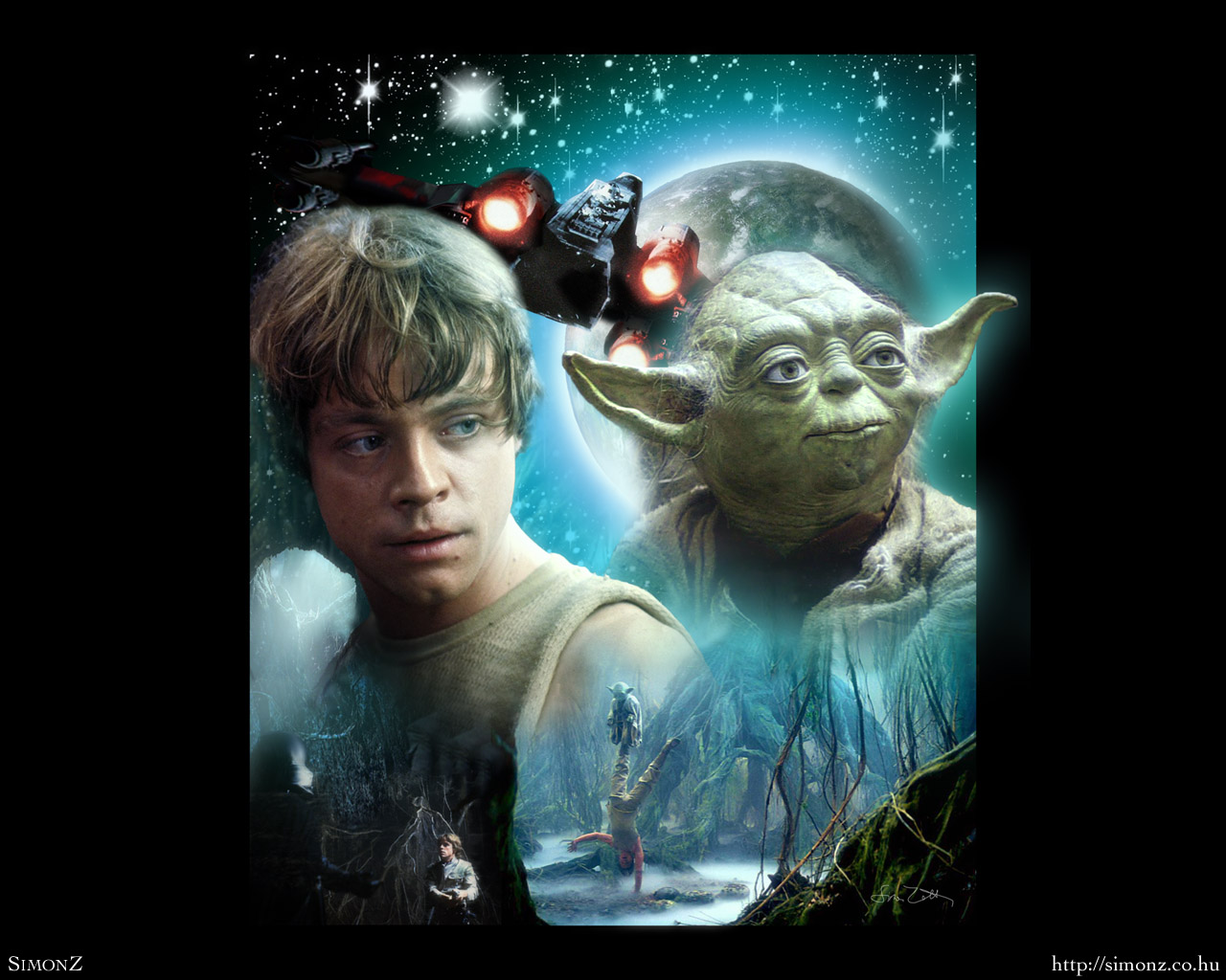 Dagobah   Luke Skywalker Wallpaper 25608604   Page 6 1280x1024