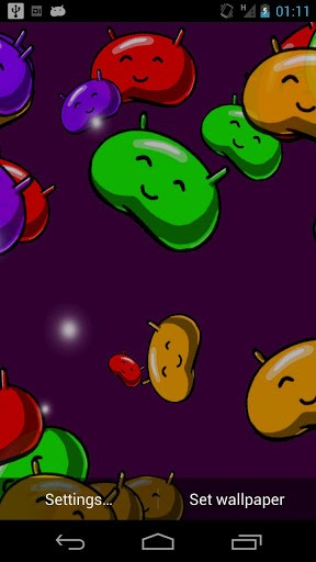 Jelly Bean Live Wallpapers