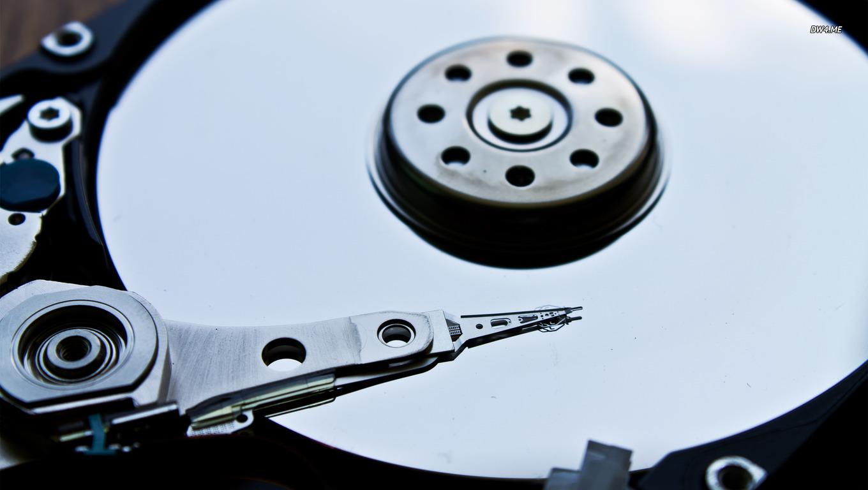 Hard disk drive wallpaper   Computer wallpapers   760 1360x768