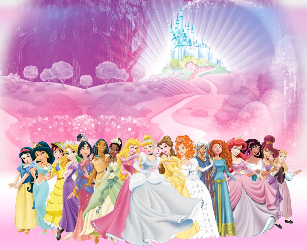 Disney princess desktop wallpaper wallpapersafari - Image princesse disney ...