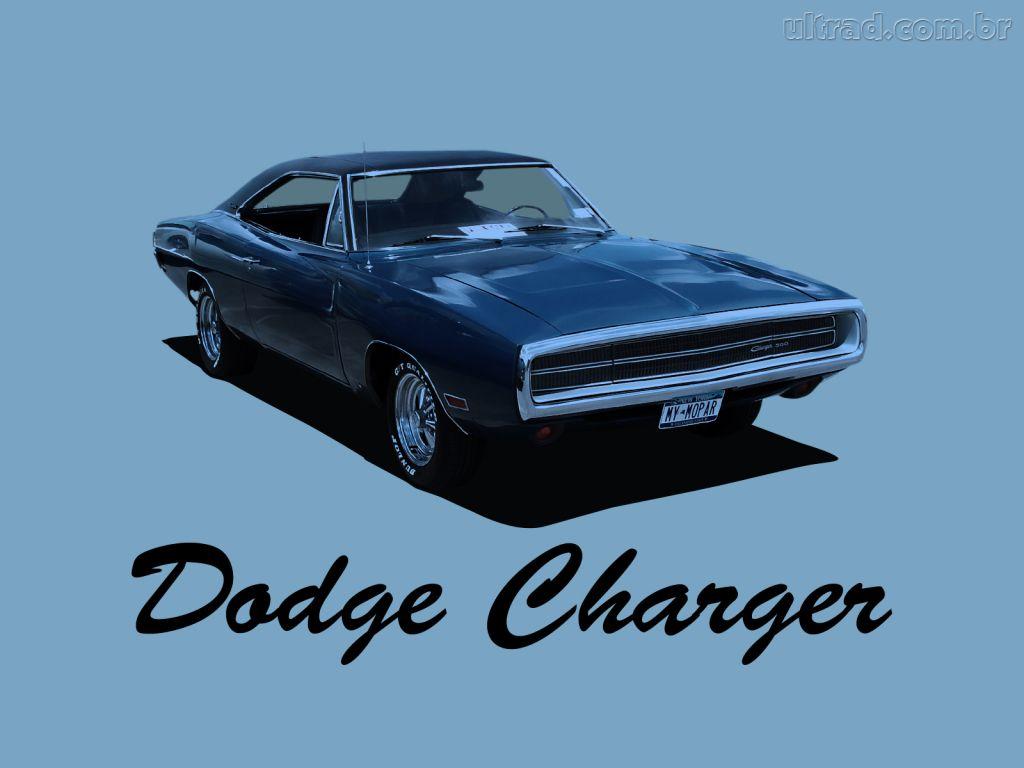 Papel de Parede Dodge Charger 1970 1024x768
