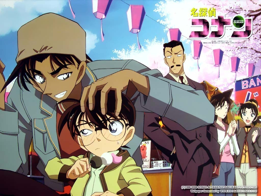 Detective Conan Wallpaper   Detective Conan Wallpaper 12675452 1024x768