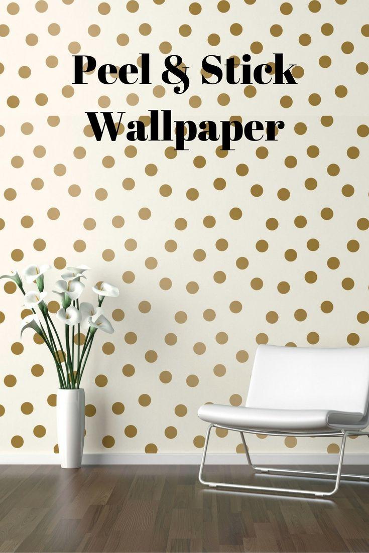 Devine Color Dots Peel Stick Wallpaper   Karat ad Living Room 735x1102