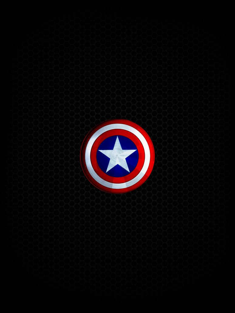 Captains Shield   HD ipadiphoneandroid Wallpape by 774x1032