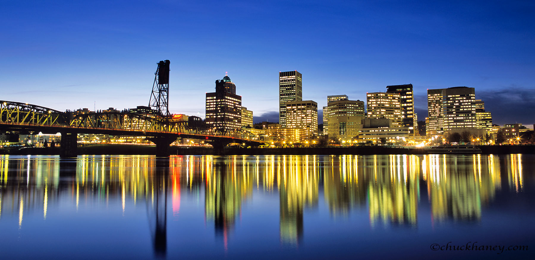 Portland Skyline Wallpaper Wallpapersafari