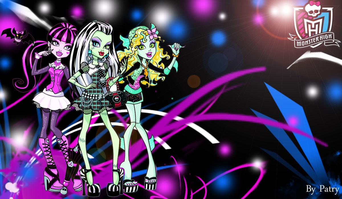 Monster High Divertidos wallpapers Monster High Divertidos 1200x700