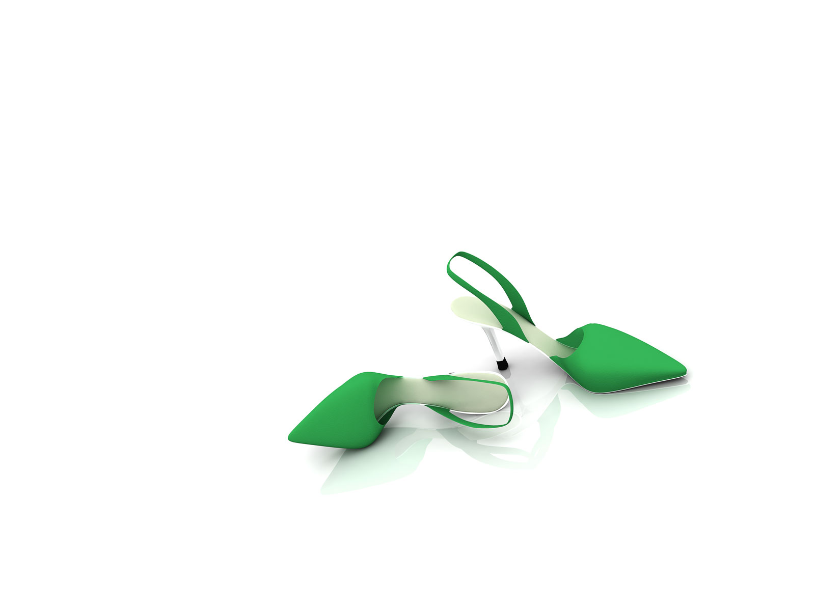 1600x1200 Pair of green shoes desktop PC and Mac wallpaper 1600x1200