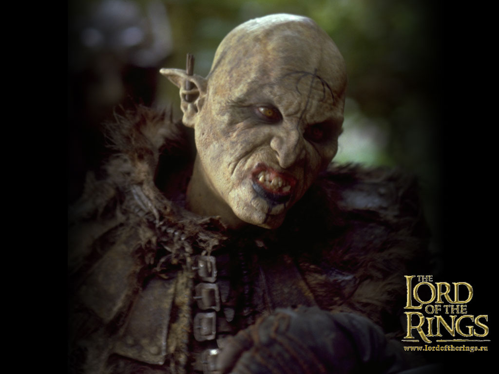 The best Orc wallpaper ever 1024x768