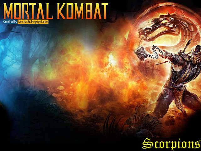 scorpion mortal kombat wallpaper 1 scorpion mortal kombat wallpaper 2 640x480