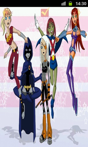 Young Justice Wallpaper App for Android 307x512