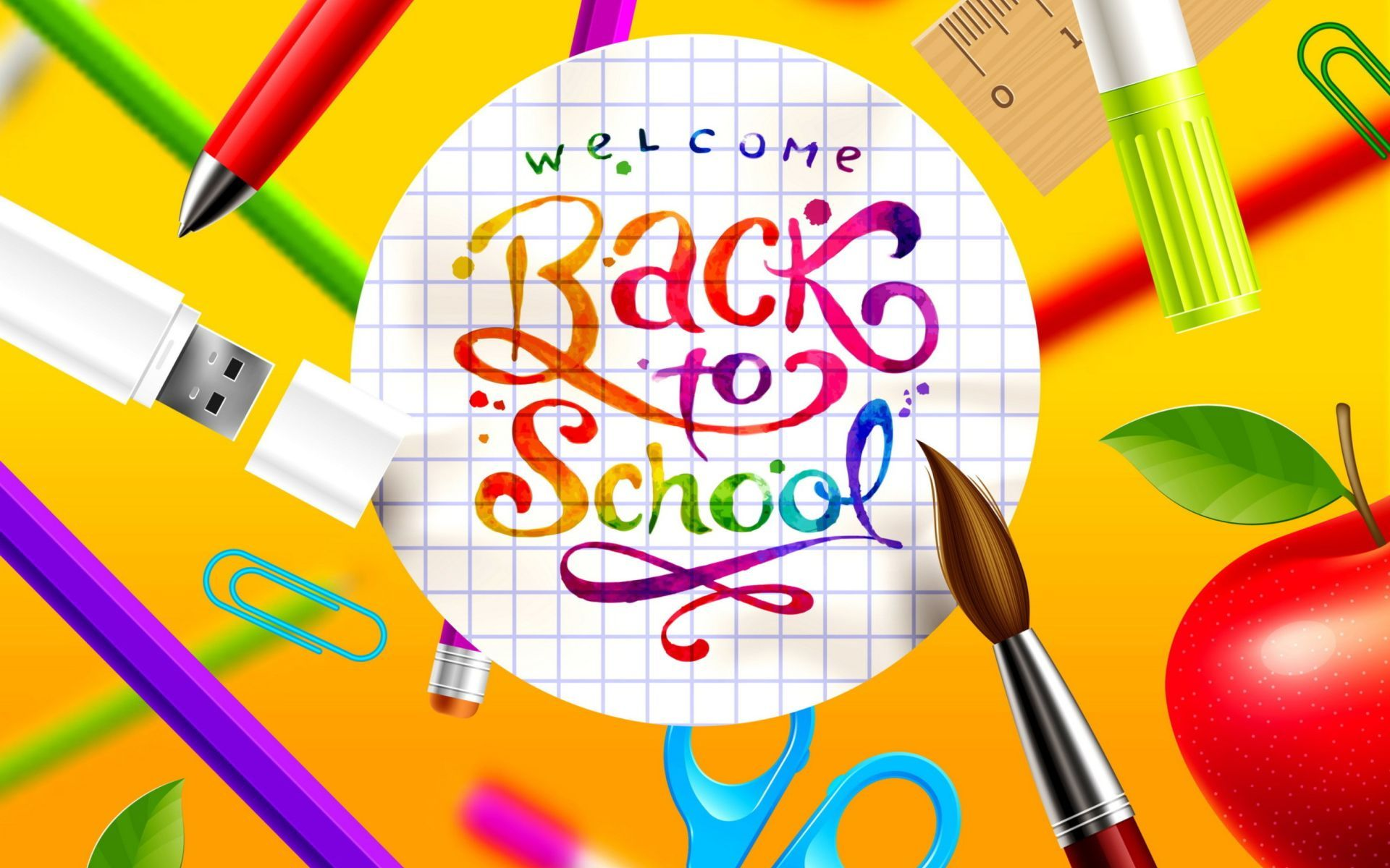 Welcome Back to School Wallpapers   Top Welcome Back to 1920x1200