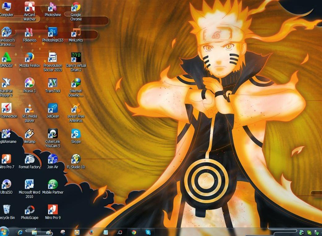Tema Naruto Shipuden Windows 7 Terbaru 2015 Blognya Ali Musthofa 1041x763