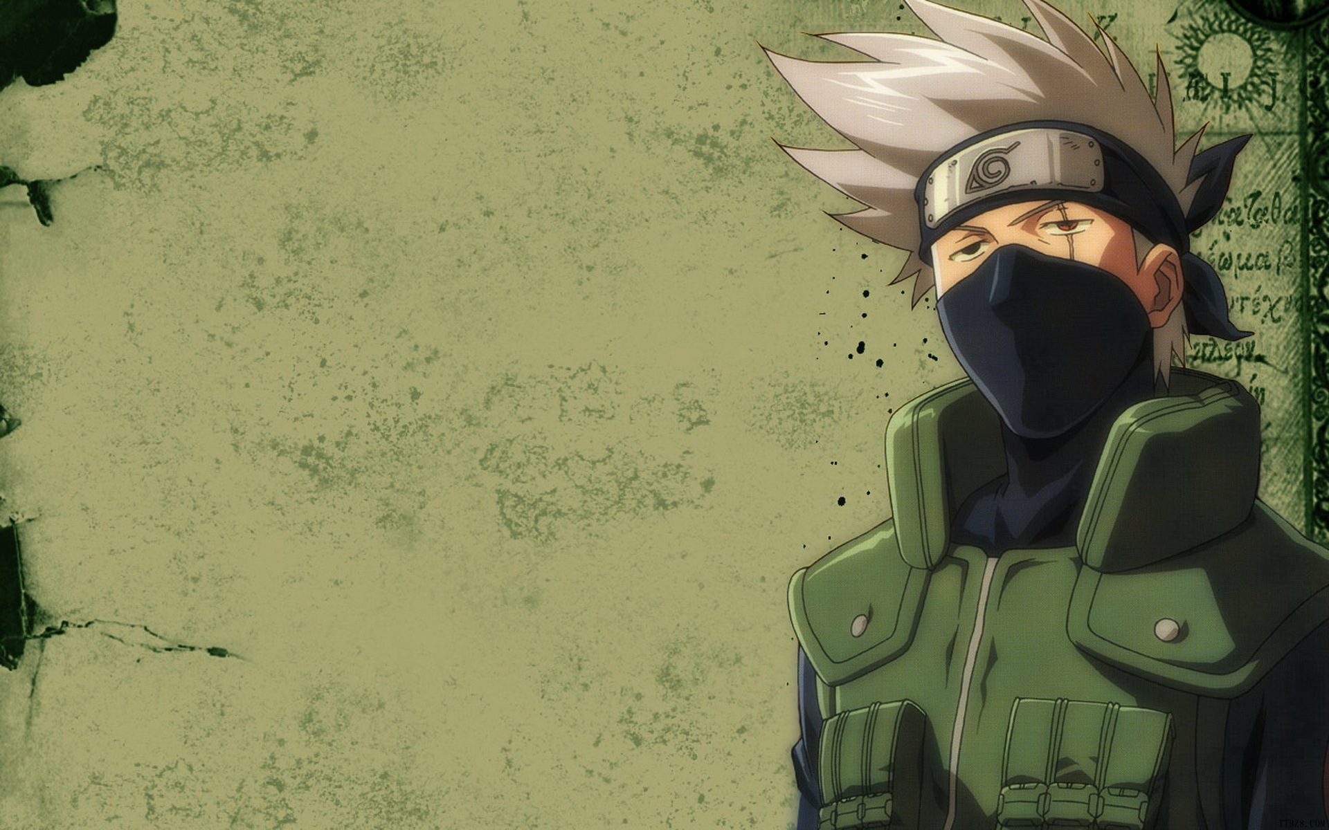 kakashi background hatake wallpaper christmas naruto anime 1920x1200