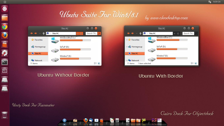 Ubuntu Suite For Win 881 Cleodesktop 1360x768
