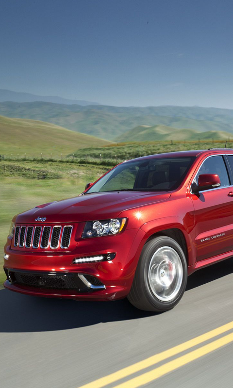 Jeep Grand Cherokee srt8 Live Wallpapers Live wallpapers HD for 480x800