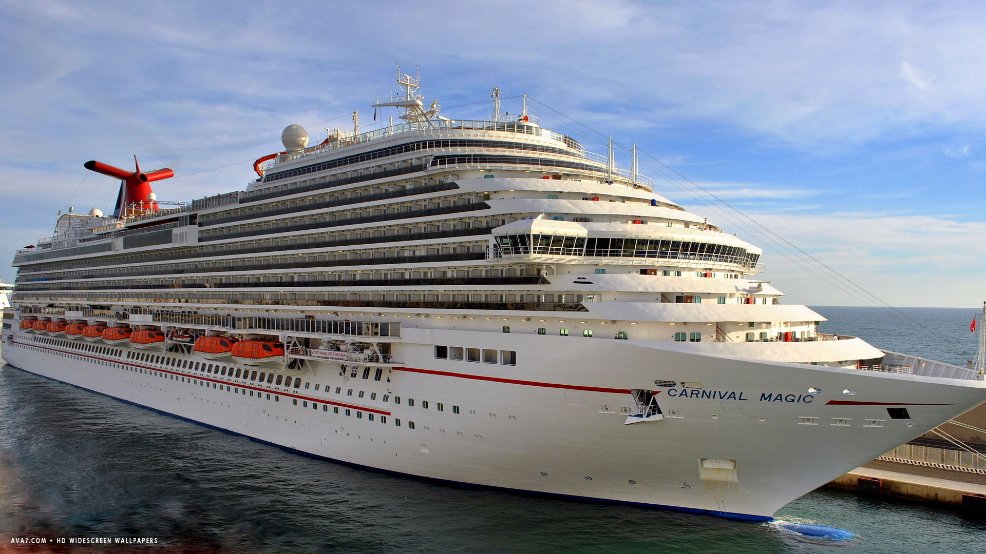carnival magic cruise ship hd widescreen wallpaper cruise ships 1920x1080