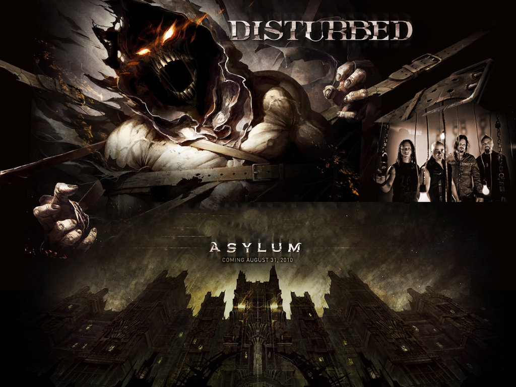Asylum   Disturbed by DarknessBliss 1024x768