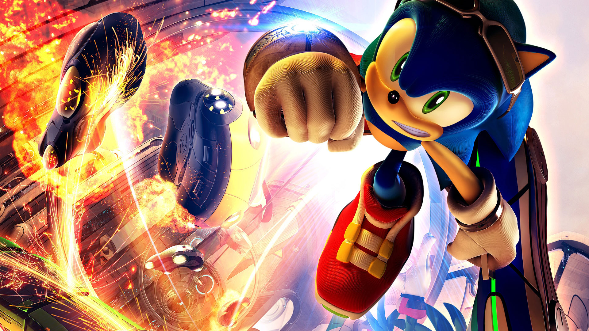 Hd wallpaper games - Sonic Riders 1080p Game Wallpapers Hd Wallpapers