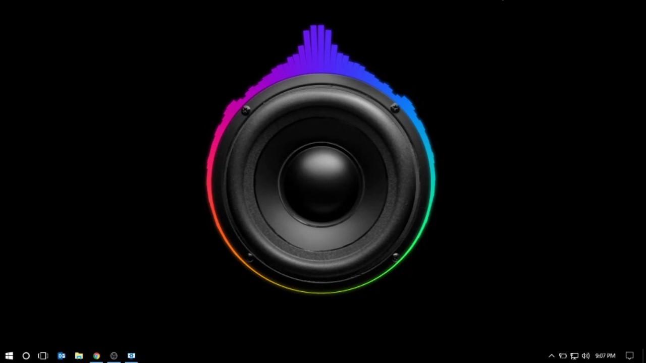 Wallpaper engine   Audio Visualizer Showcase 9 1280x720