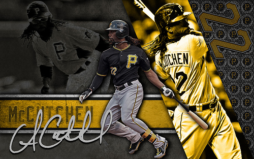 Pittsburgh Pirates Andrew McCutchen 500x313