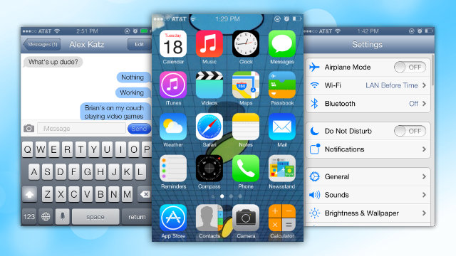 Iphone 5s Original Home Screen Layout Iphone 5s Original Home Screen 640x360