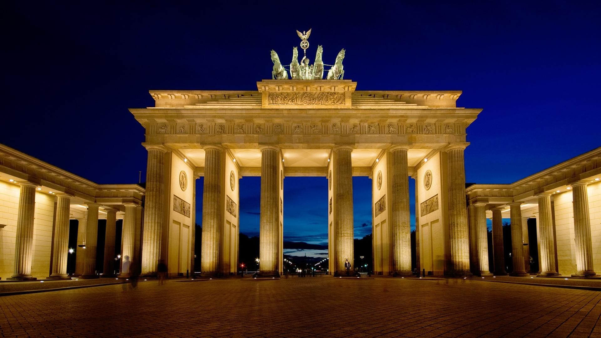 Brandenburg Gate Wallpaper Germany World Wallpapers in jpg format 1920x1080