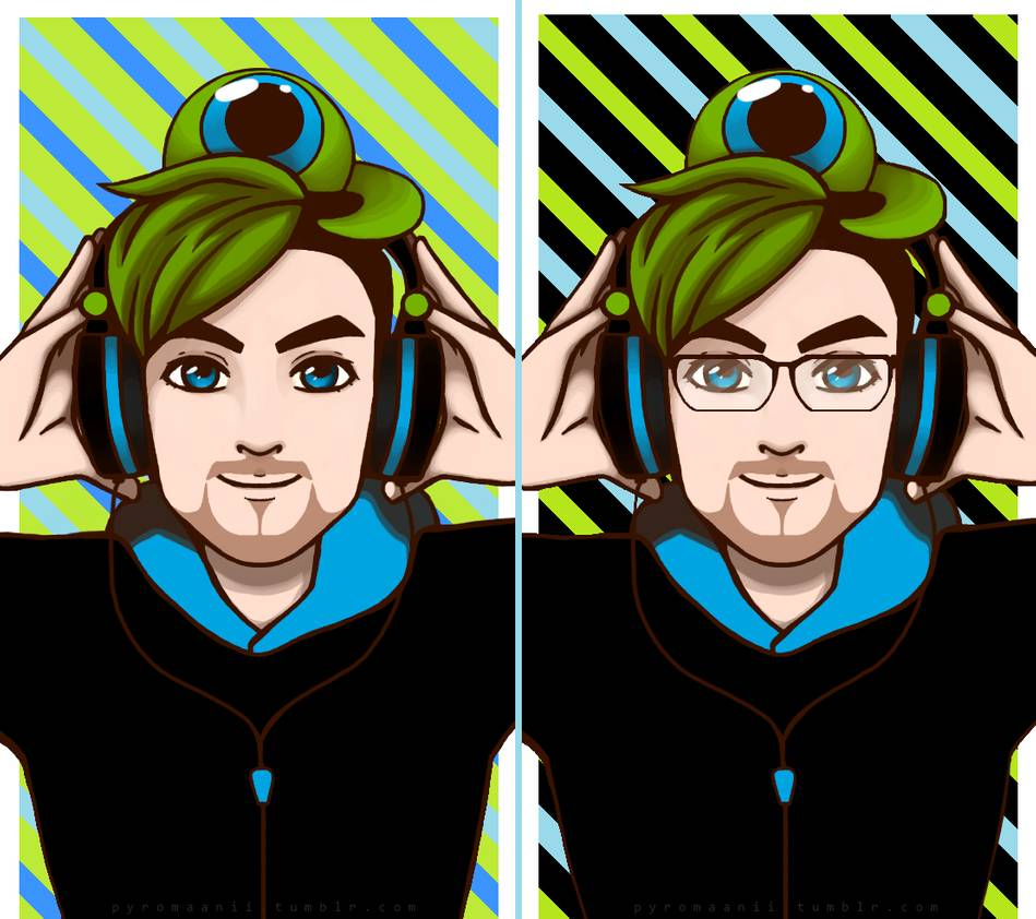 Jacksepticeye wallpapers by pyromaanii 949x842